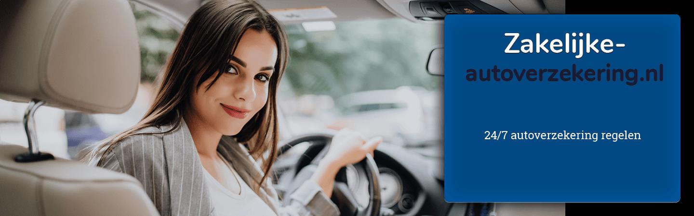 zakelijke autoverzekering vergelijken en afsluiten
